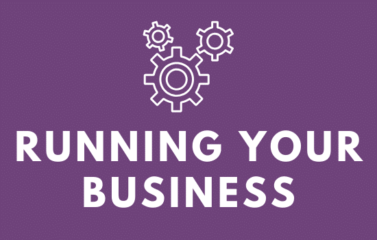 Blog Category: Running Your Business